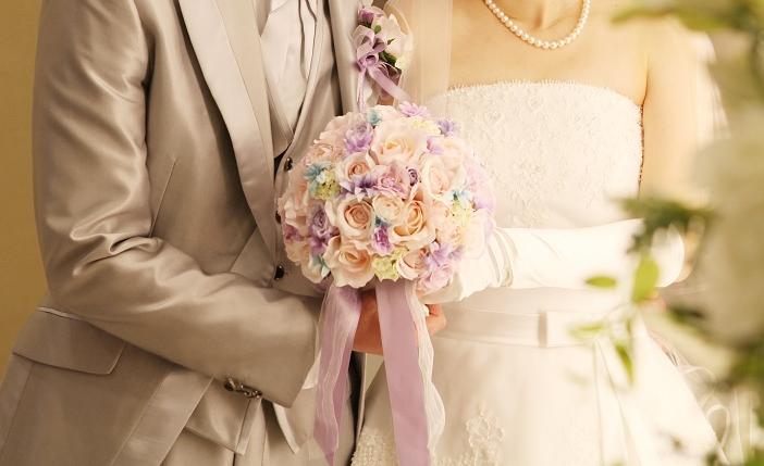 結婚式ブーケ1