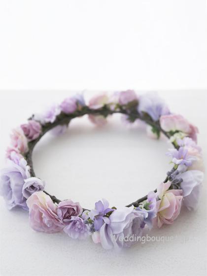 花冠  ふんわり紫ピンク